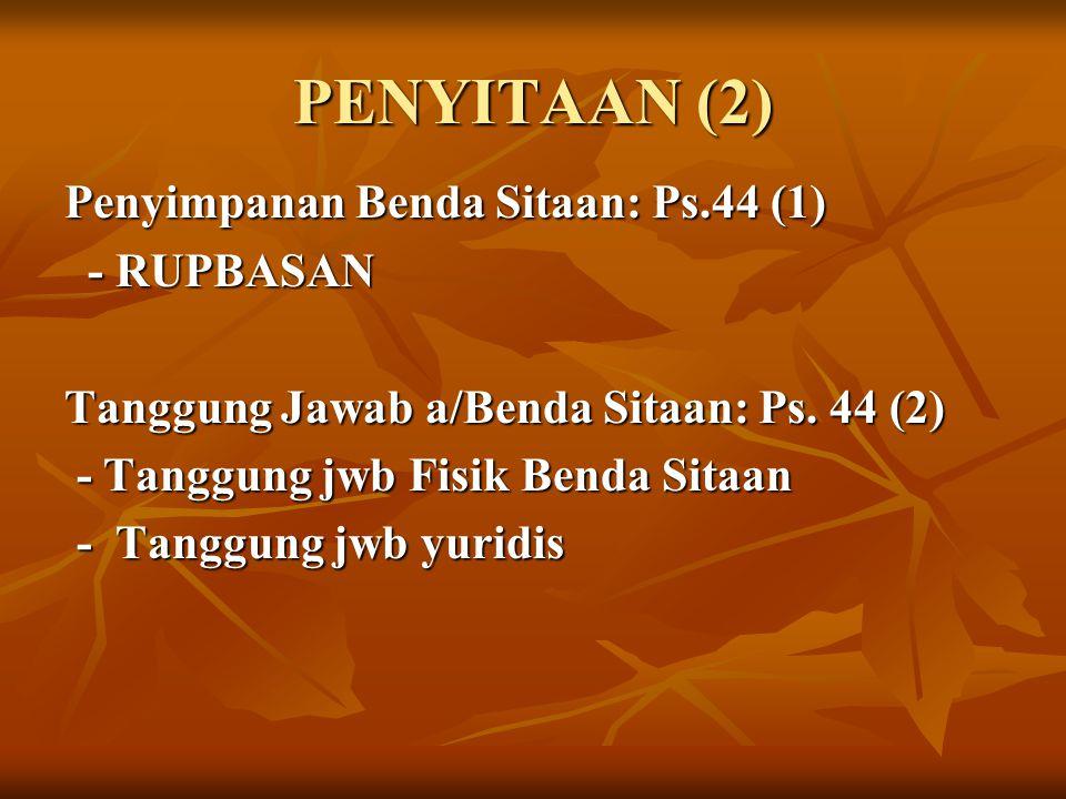 PENYITAAN (2)
