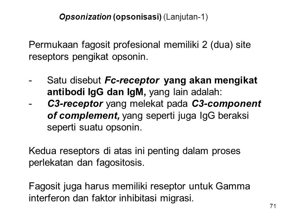 Opsonization (opsonisasi) (Lanjutan-1)