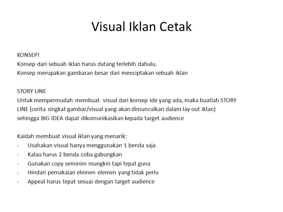 Visual Iklan Cetak KONSEP!