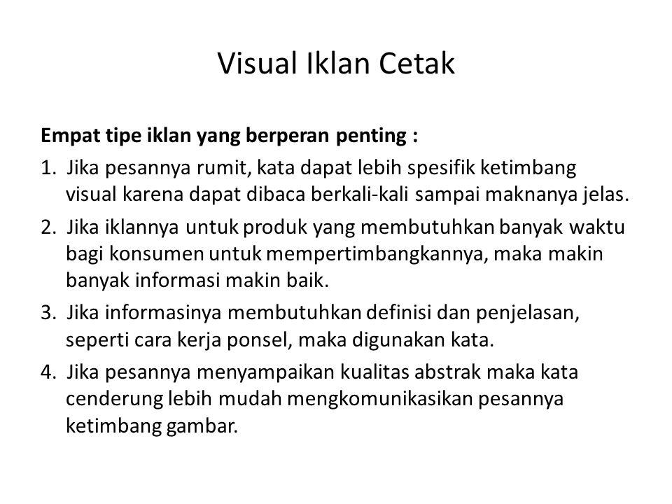 Visual Iklan Cetak