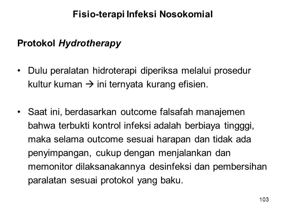 Fisio-terapi Infeksi Nosokomial