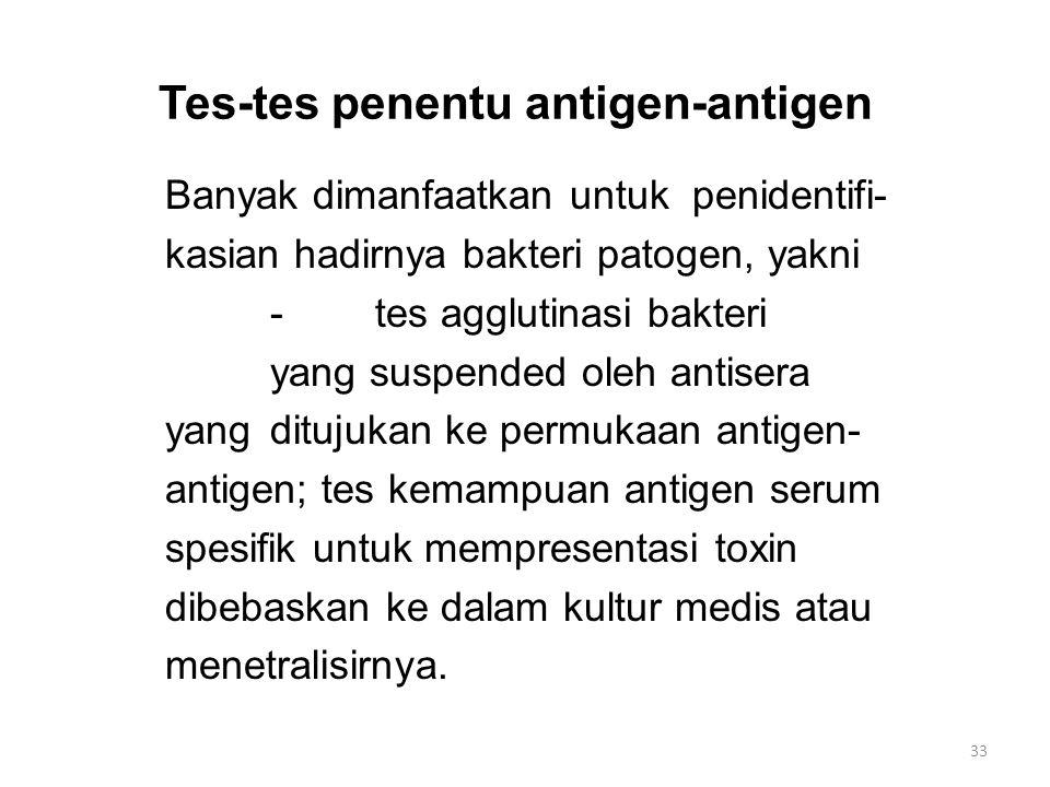 Tes-tes penentu antigen-antigen