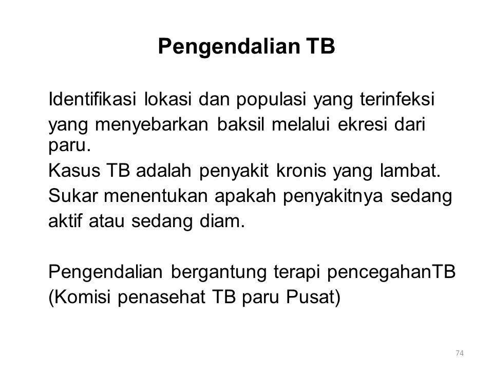 Pengendalian TB