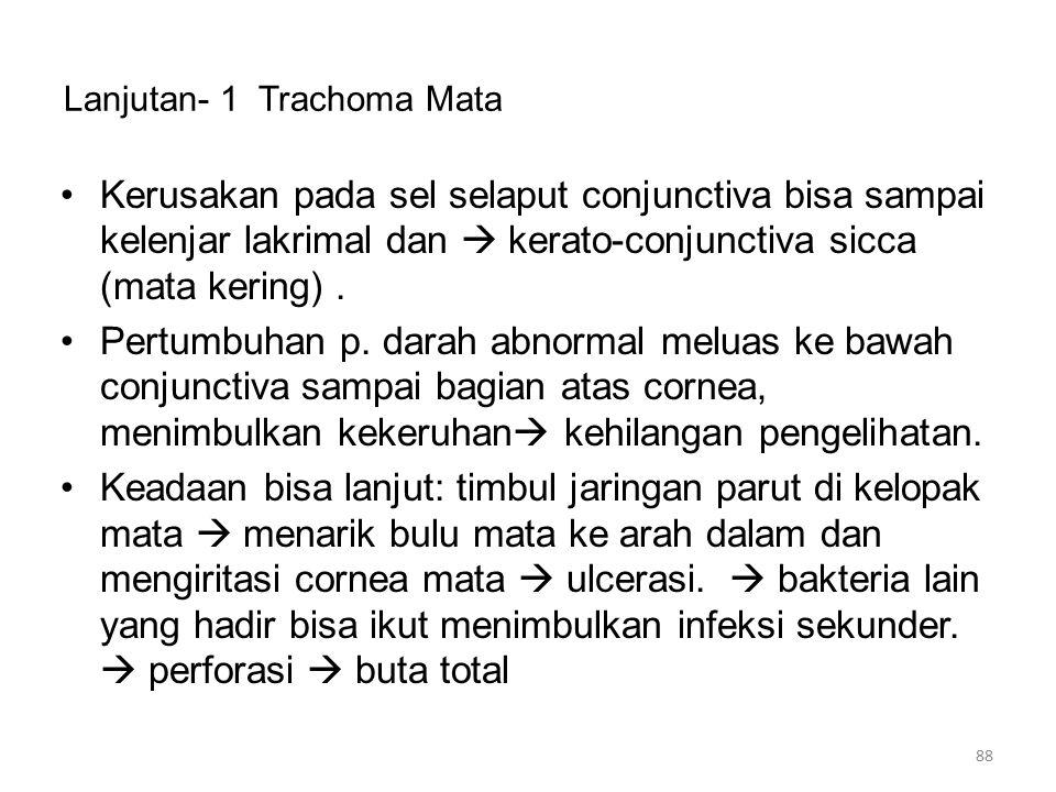 Lanjutan- 1 Trachoma Mata