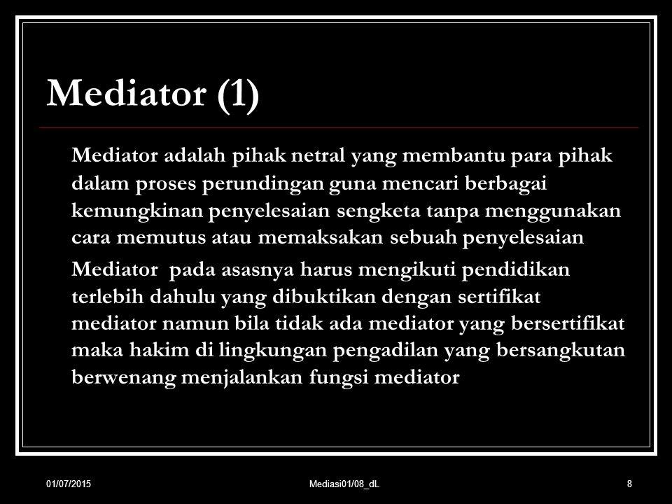Mediator (1)