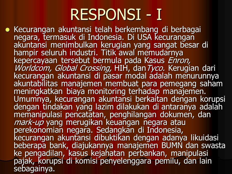 RESPONSI - I