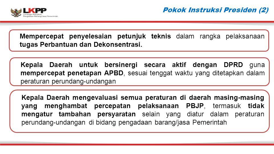 Pokok Instruksi Presiden (2)