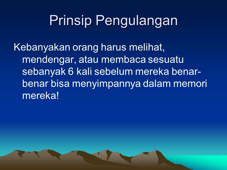 Prinsip Pengulangan