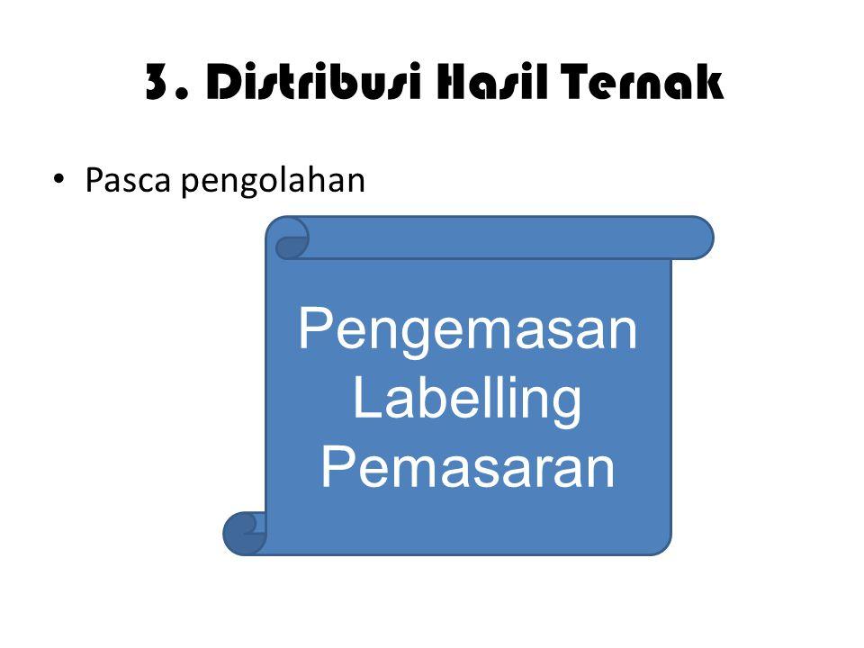 3. Distribusi Hasil Ternak