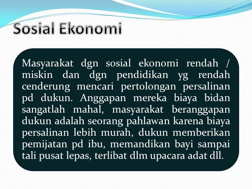 Sosial Ekonomi