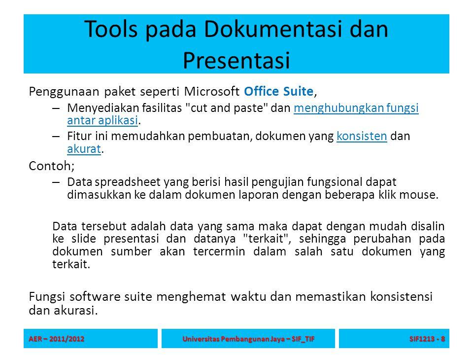 Tools pada Dokumentasi dan Presentasi