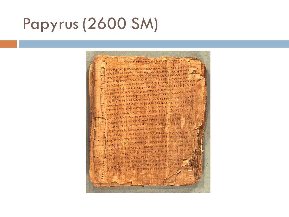 Papyrus (2600 SM)