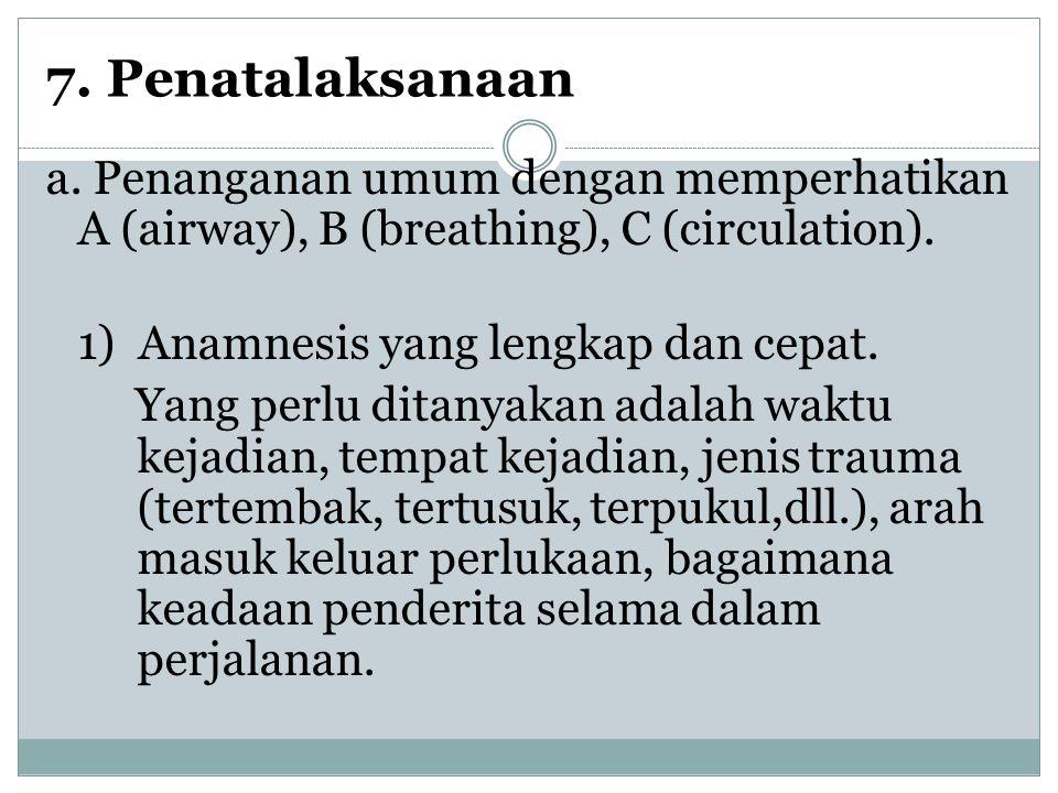 7. Penatalaksanaan