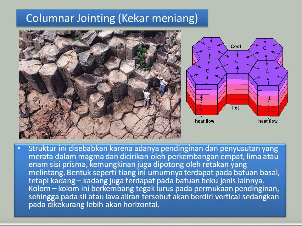 Columnar Jointing (Kekar meniang)