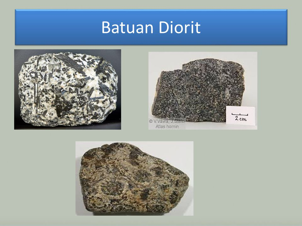 Batuan Diorit