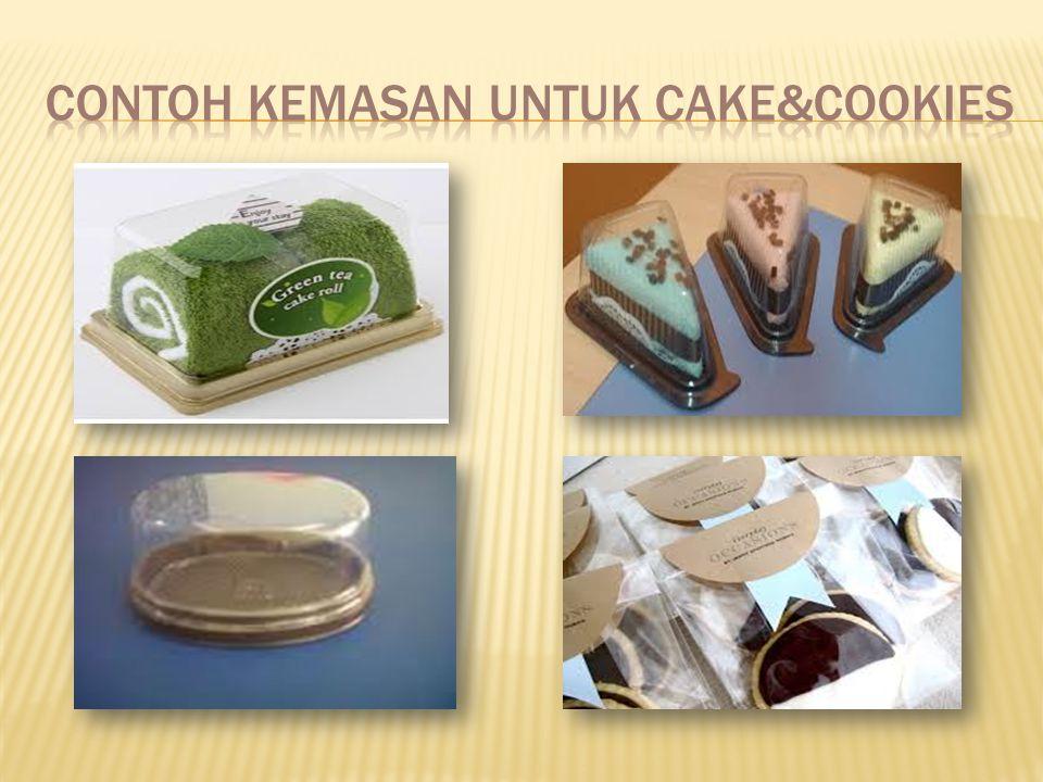 CONTOH KEMASAN UNTUK CAKE&COOKIES
