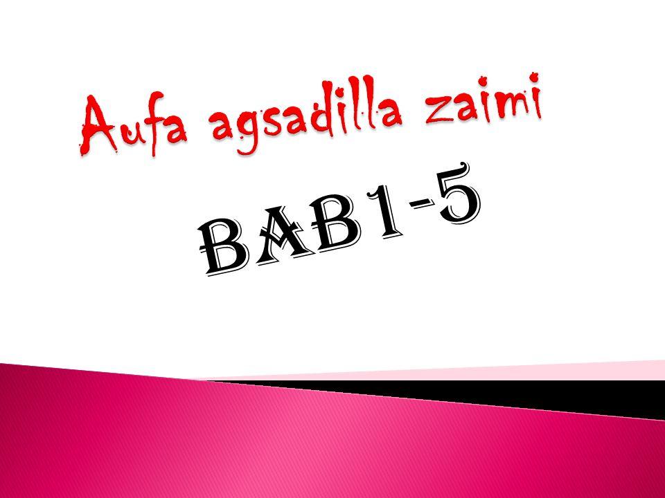 Aufa agsadilla zaimi BAB1-5