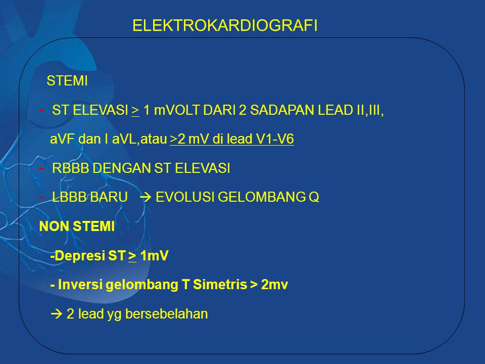 ELEKTROKARDIOGRAFI STEMI