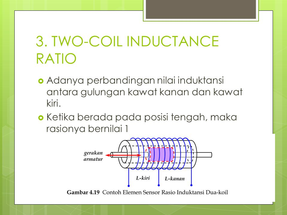 3. TWO-COIL INDUCTANCE RATIO
