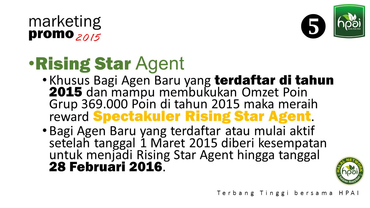  Rising Star Agent marketing promo