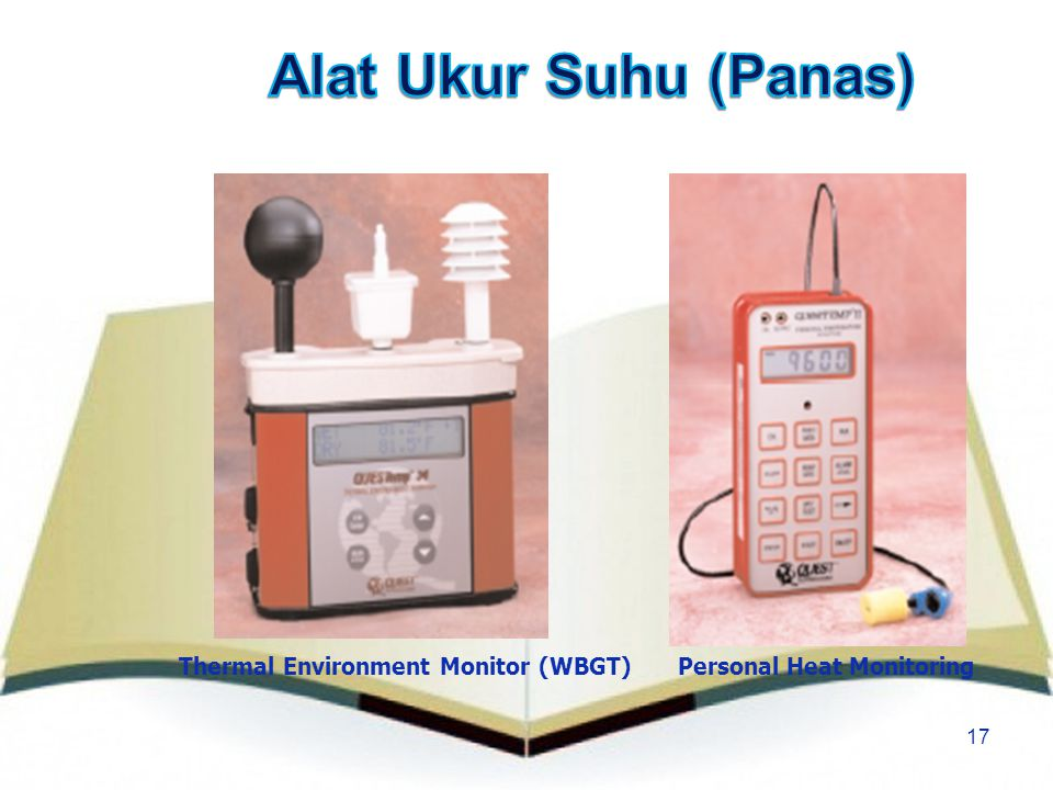 Alat Ukur Suhu (Panas) Thermal Environment Monitor (WBGT)