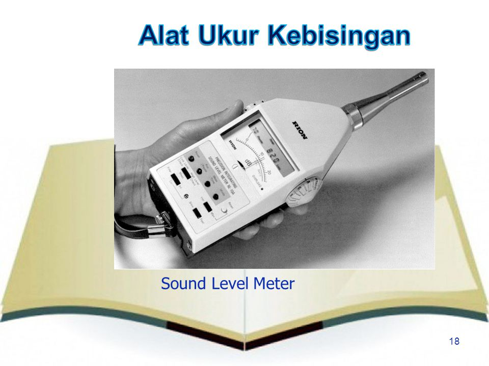 Alat Ukur Kebisingan Sound Level Meter