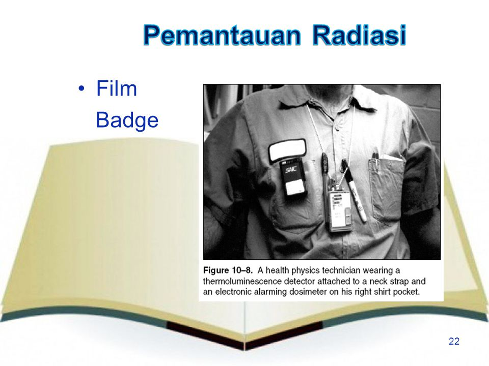 Pemantauan Radiasi Film Badge