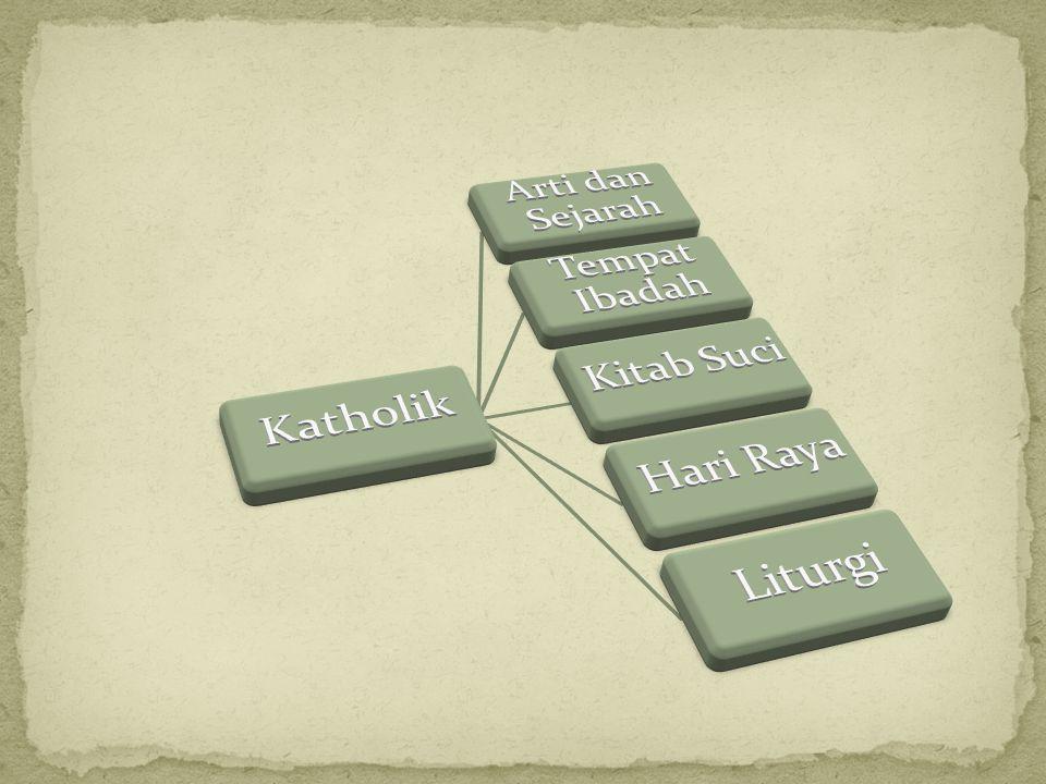 Katholik Arti dan Sejarah Tempat Ibadah Kitab Suci Hari Raya Liturgi