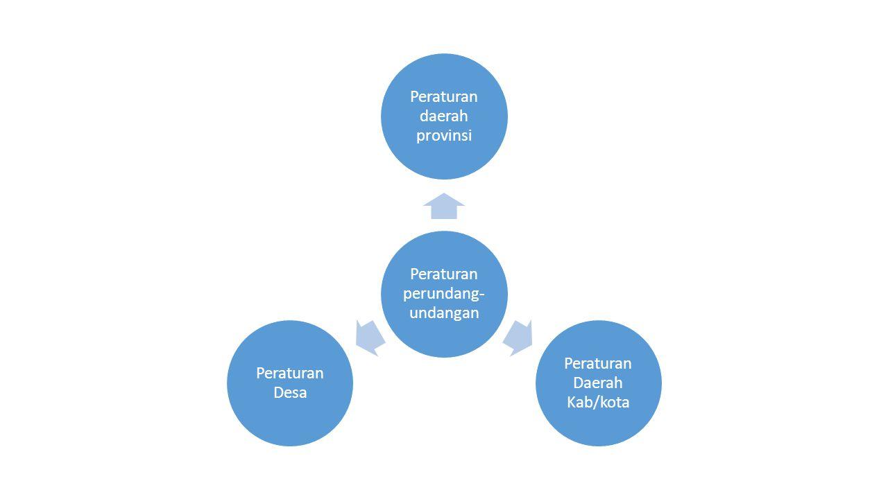 Peraturan perundang-undangan Peraturan daerah provinsi