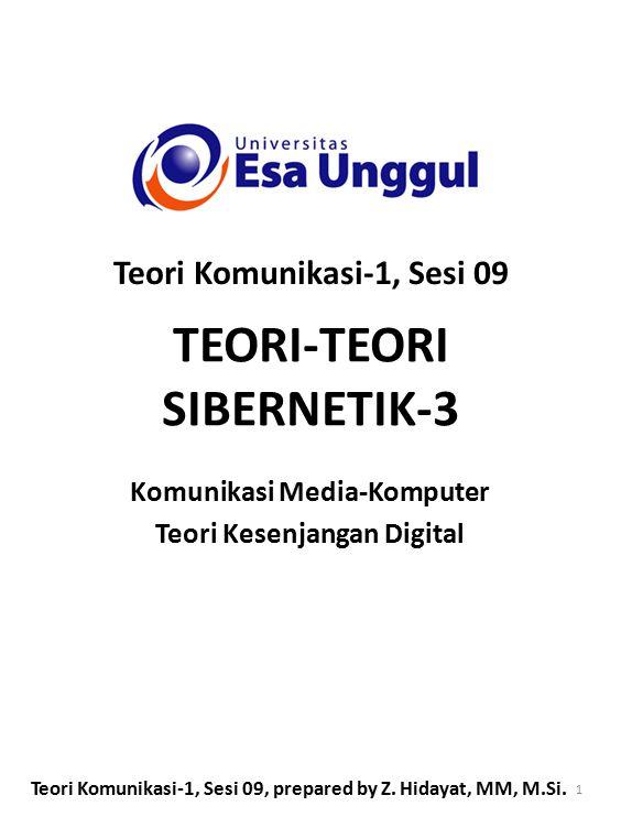TEORI-TEORI SIBERNETIK-3