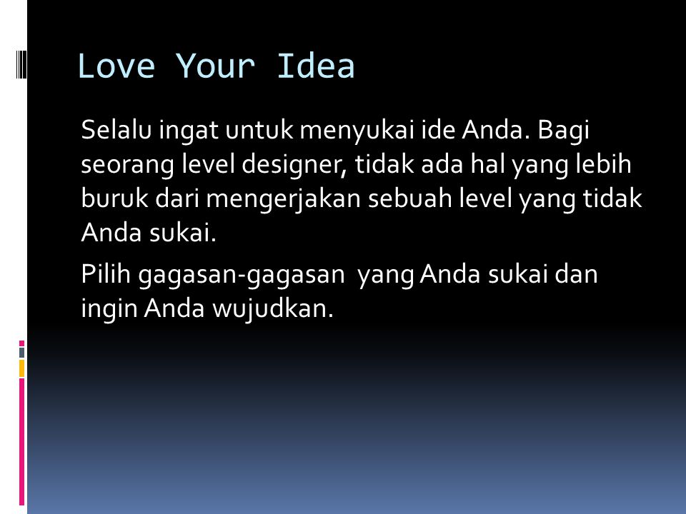Love Your Idea