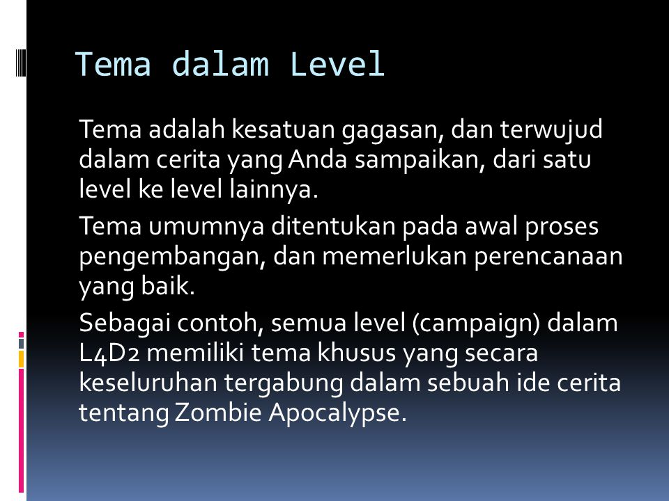 Tema dalam Level