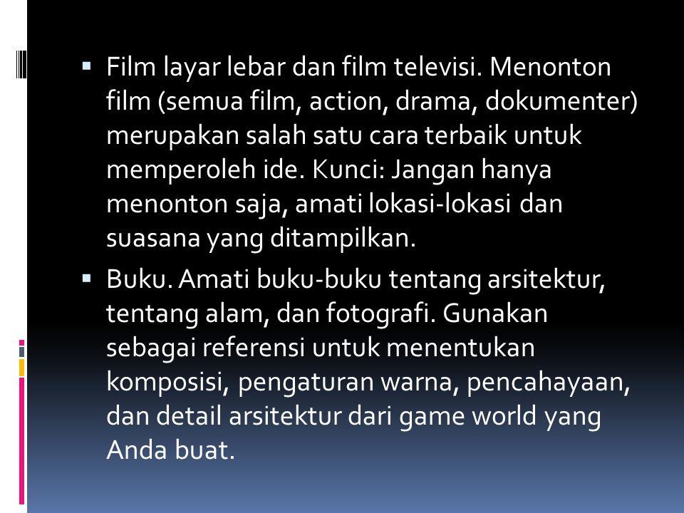 Film layar lebar dan film televisi