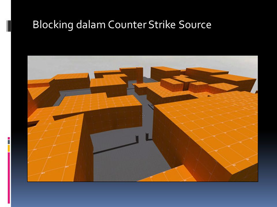 Blocking dalam Counter Strike Source