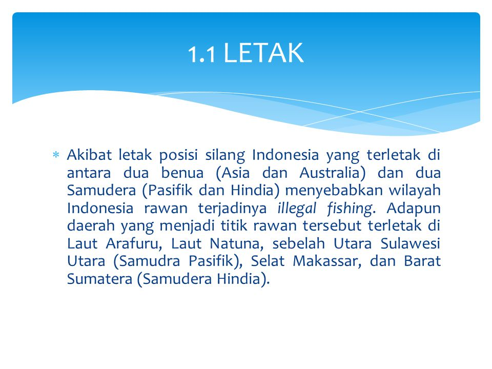 1.1 LETAK