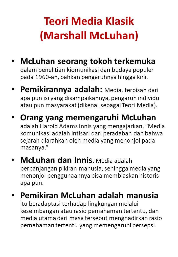 Teori Media Klasik (Marshall McLuhan)