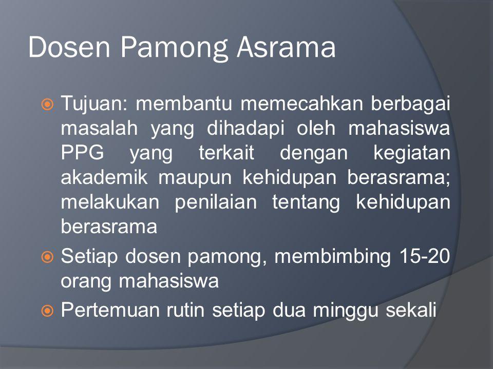 Dosen Pamong Asrama
