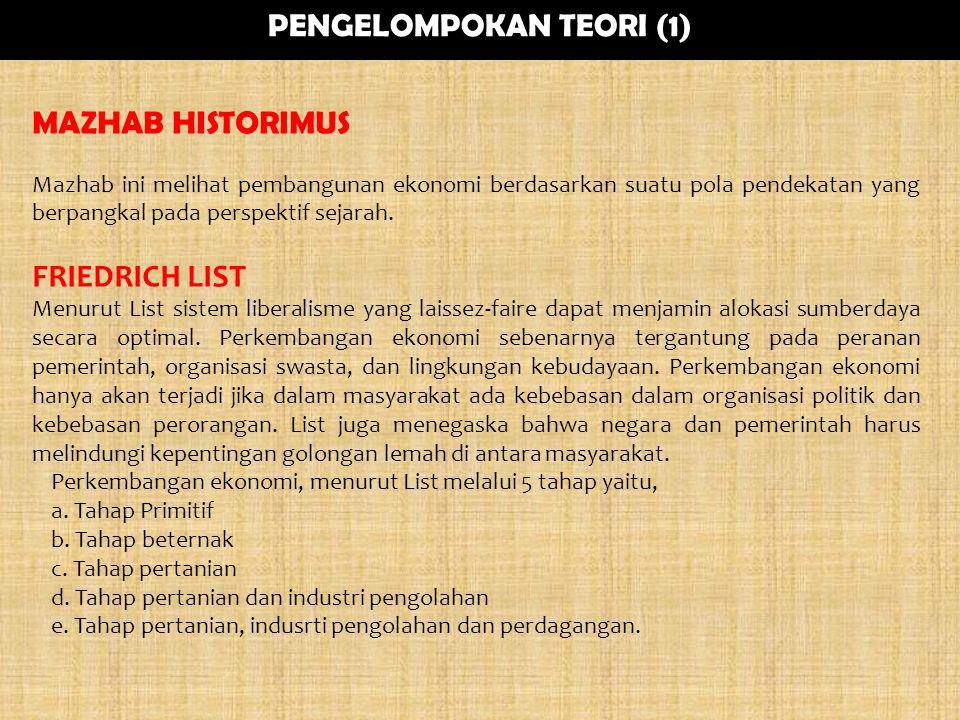 PENGELOMPOKAN TEORI (1)