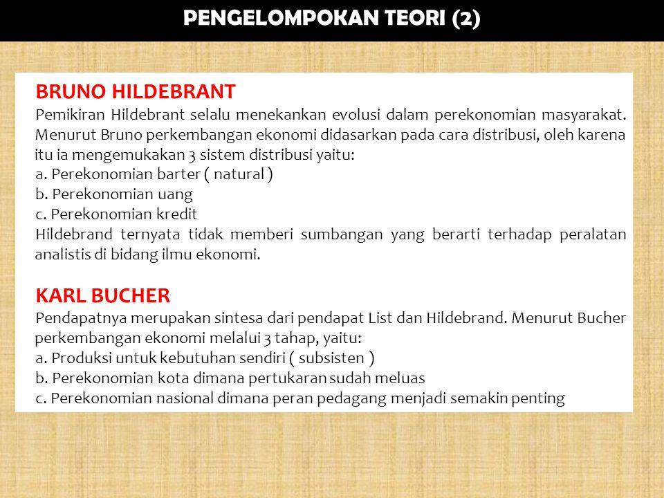 PENGELOMPOKAN TEORI (2)