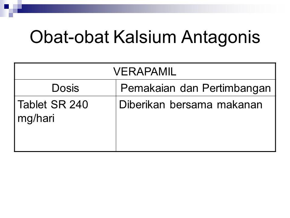 Obat-obat Kalsium Antagonis
