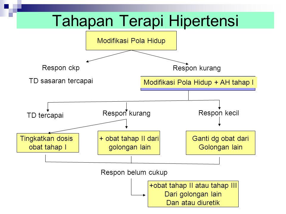 Tahapan Terapi Hipertensi