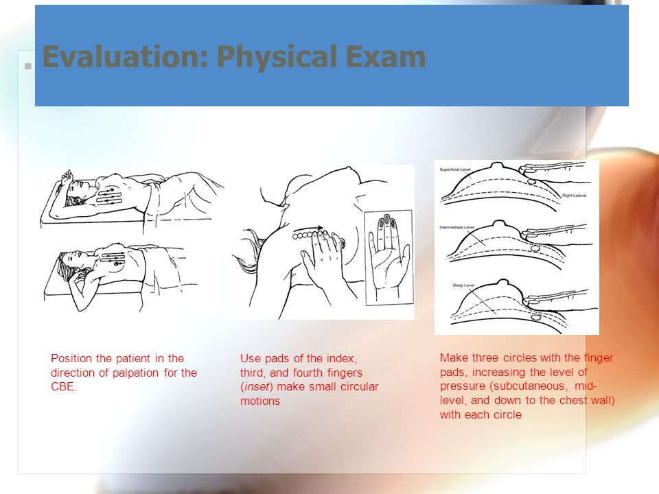 Evaluation: Physical Exam