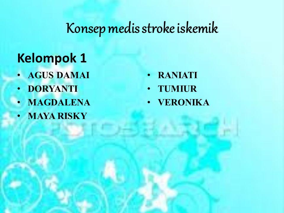 Konsep medis stroke iskemik