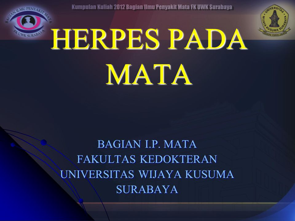 HERPES PADA MATA