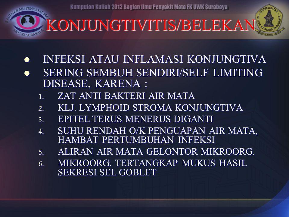 KONJUNGTIVITIS/BELEKAN