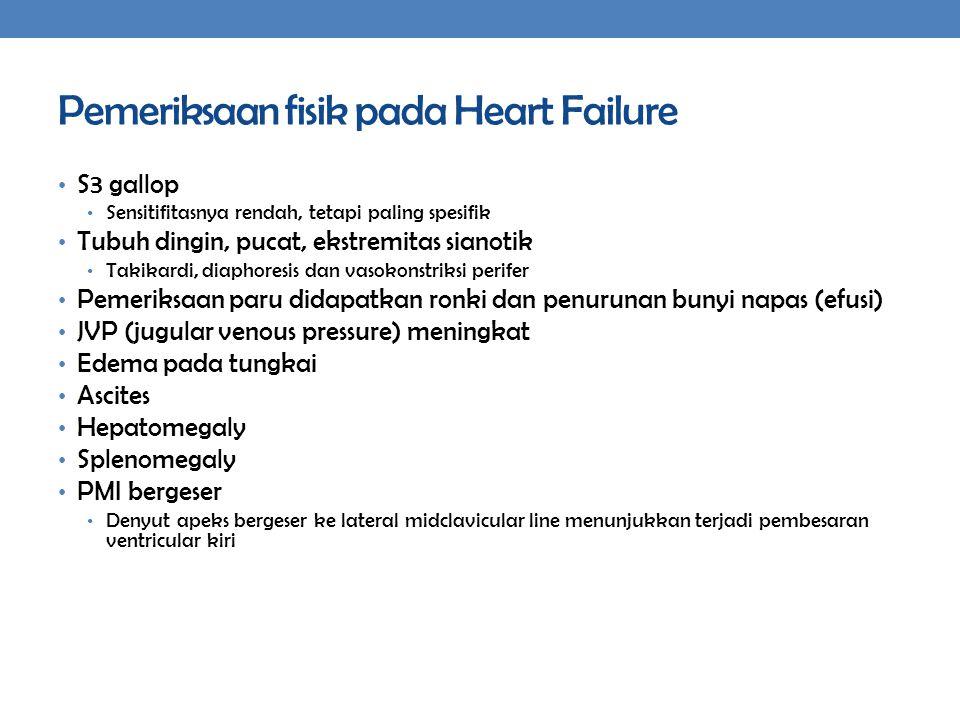 Pemeriksaan fisik pada Heart Failure