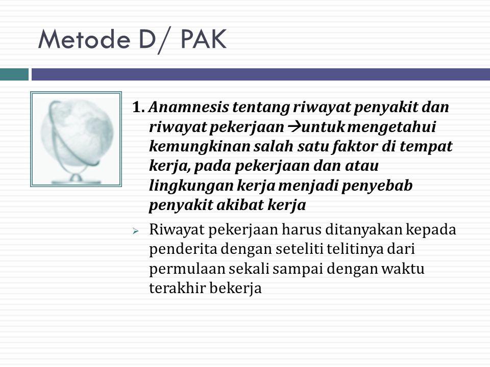 Metode D/ PAK