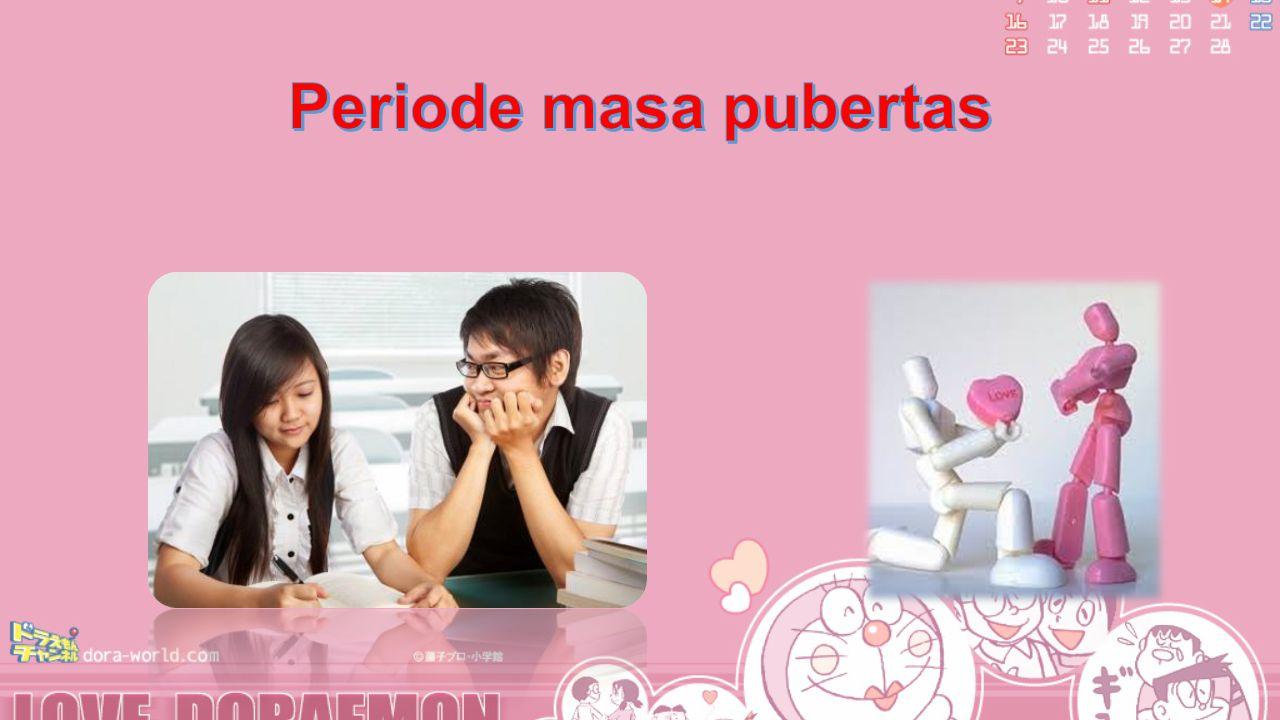 Periode masa pubertas