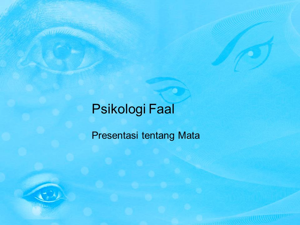 Presentasi tentang Mata