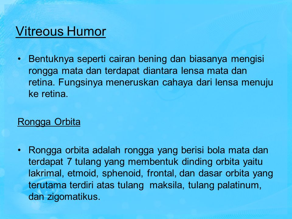 Vitreous Humor